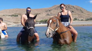 Horse riding in Lemnos